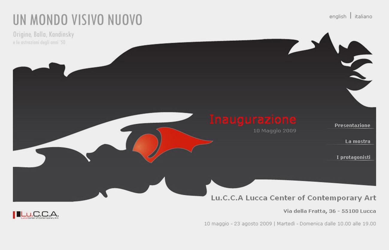Chiara Lera - Un mondo visivo nuovo, sito web - 2009