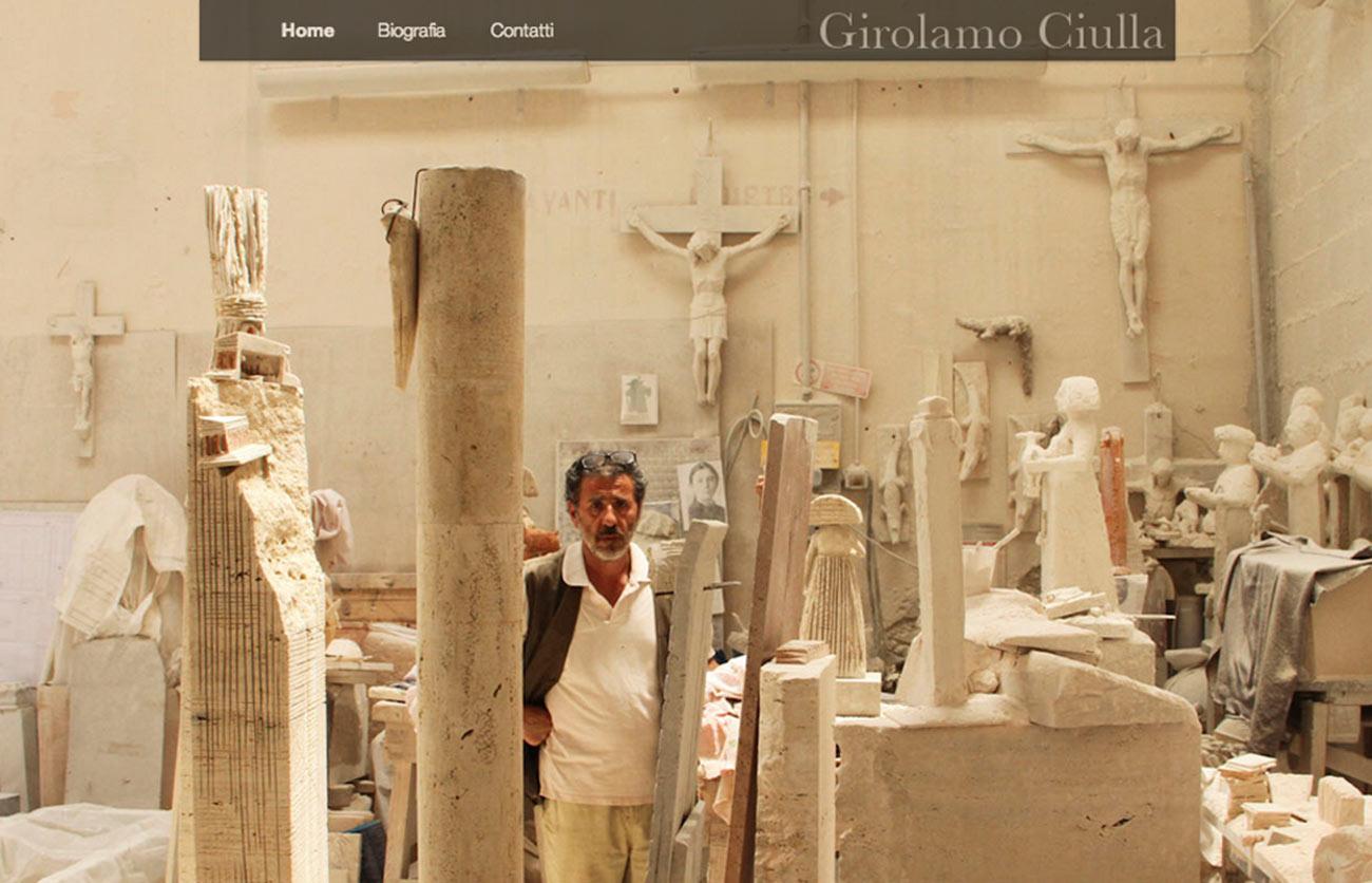 Chiara Lera - Girolamo Ciulla, sito web - 2013