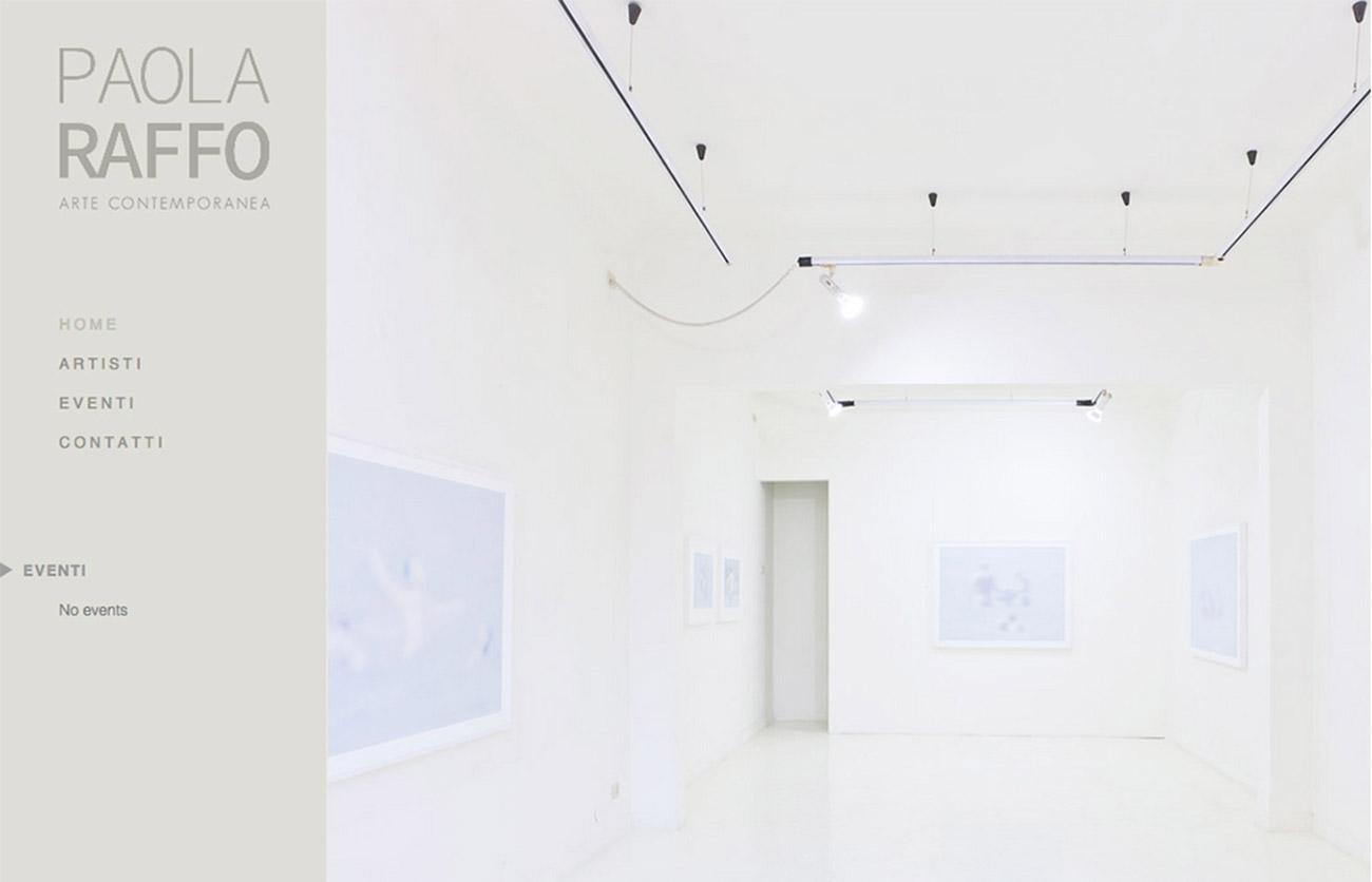 Chiara Lera - Paola Raffo Arte Contemporanea, sito web - 2013